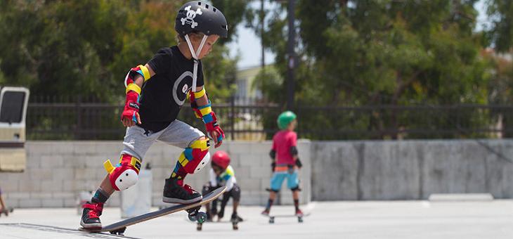 プログラム#5005【小中学生向け】スケートボード、サマーデイキャンプ in アメリカ、ロサンゼルス