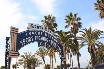 L.A.流行の発信地の一つ、サンタモニカ☆