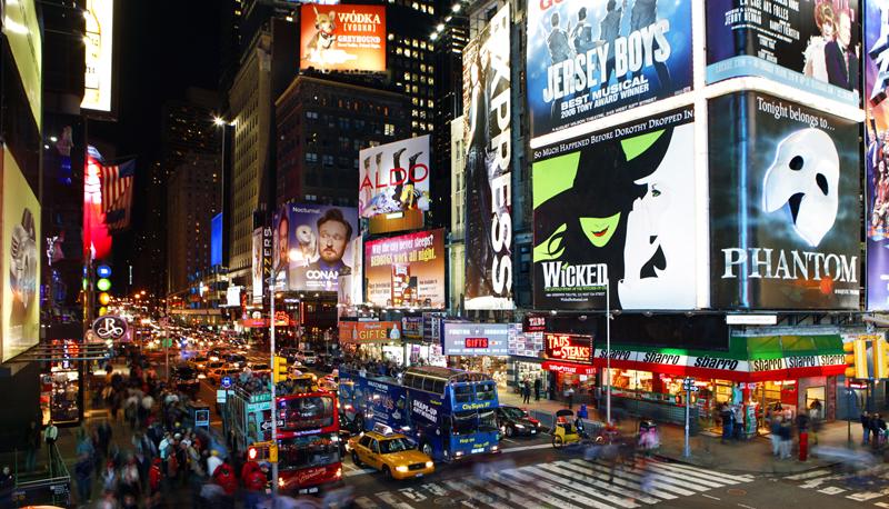 24時間眠らない街ニューヨークは刺激がたくさん