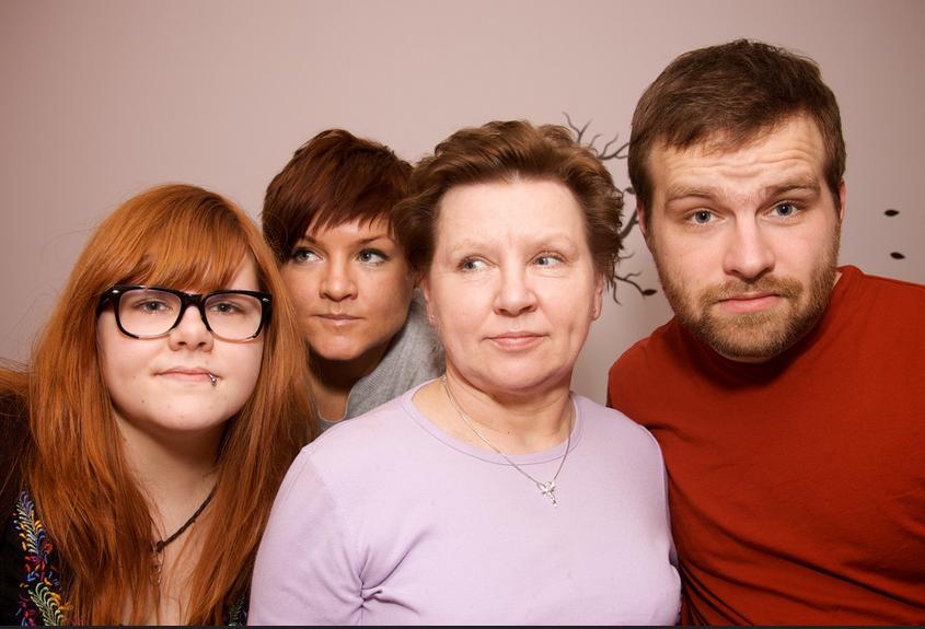オランダの家族