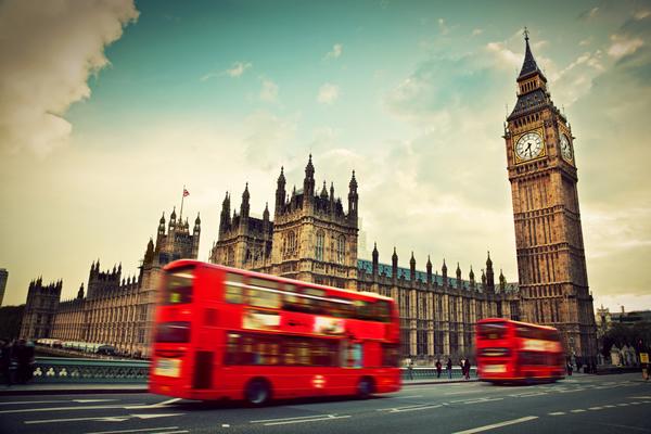 お洒落な街ロンドン♡