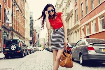 流行最先端の街でファッションを学ぶ!