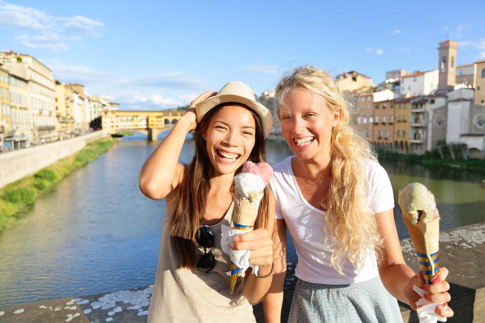 美食の地イタリアで本格的なジェラート作り♪
