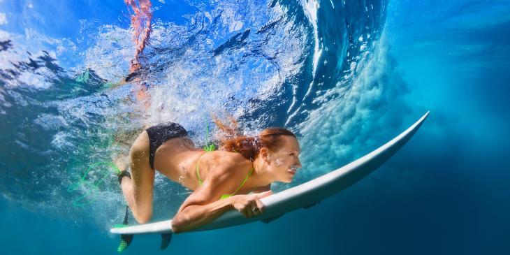 サーフィン&ダイビングのイメージ画像