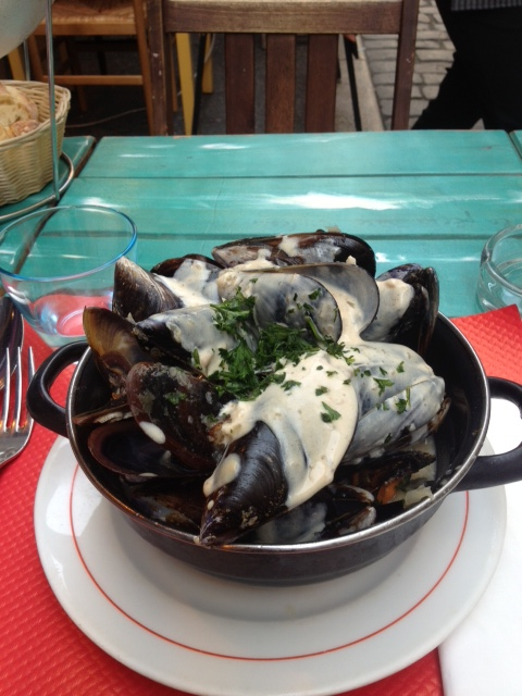 ムール貝の白ワイン煮込み