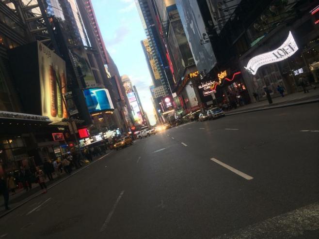 ニューヨークへ留学していた頃の街並み