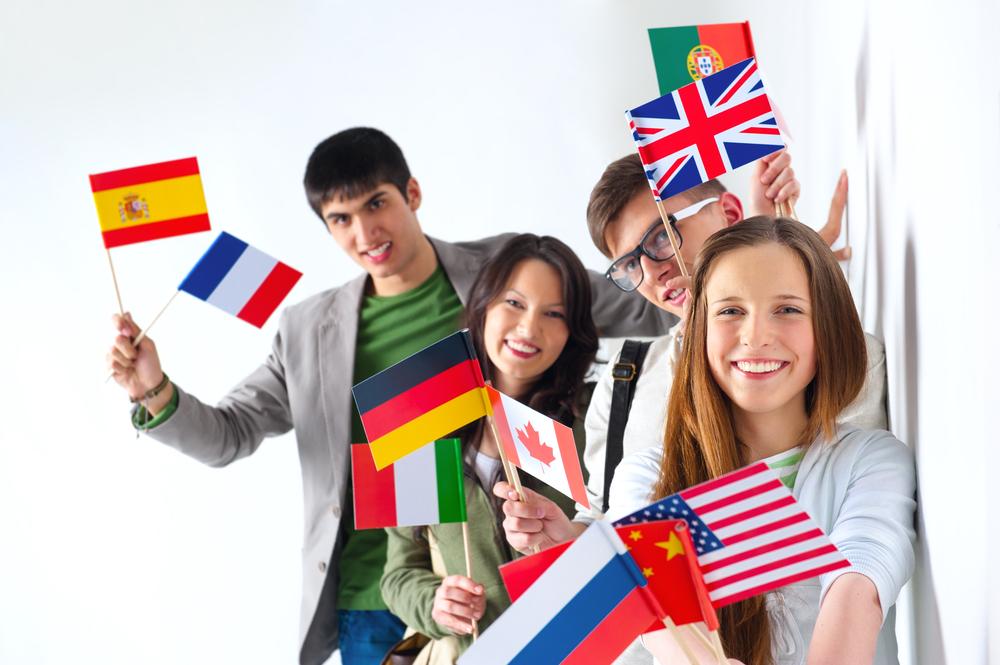 世界各国から生徒が集まるクラス