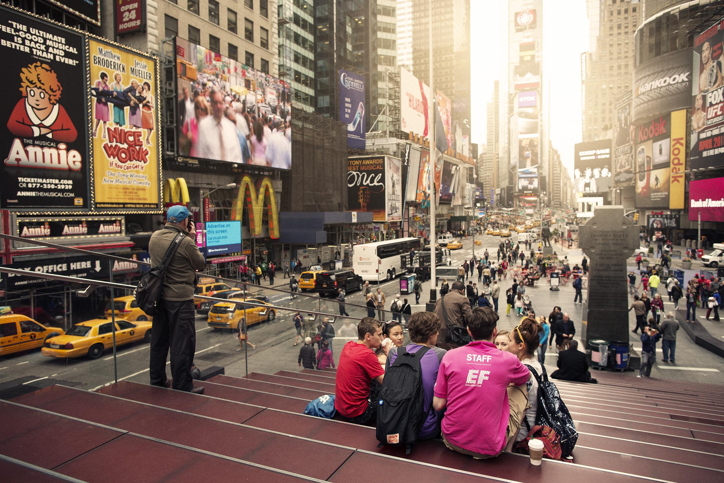 エキサイティングなニューヨークで学ぼう!
