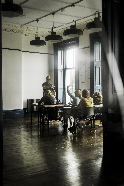 お洒落な教室