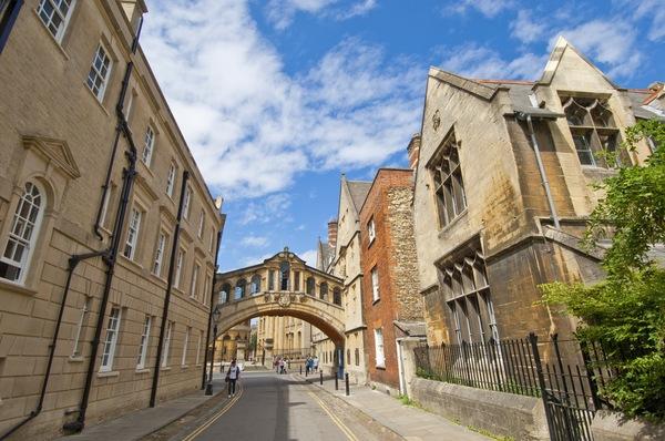 オックスフォード学生街