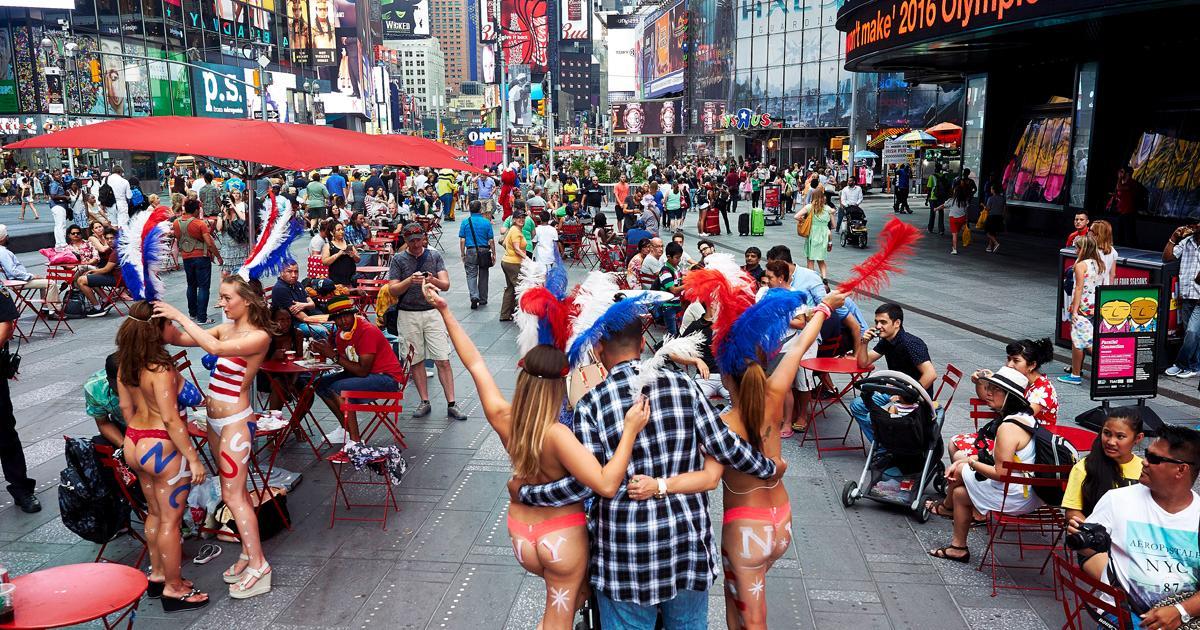 世界の中心地ニューヨークでの長期滞在プラン。休学を検討する大学生に人気なプランです。