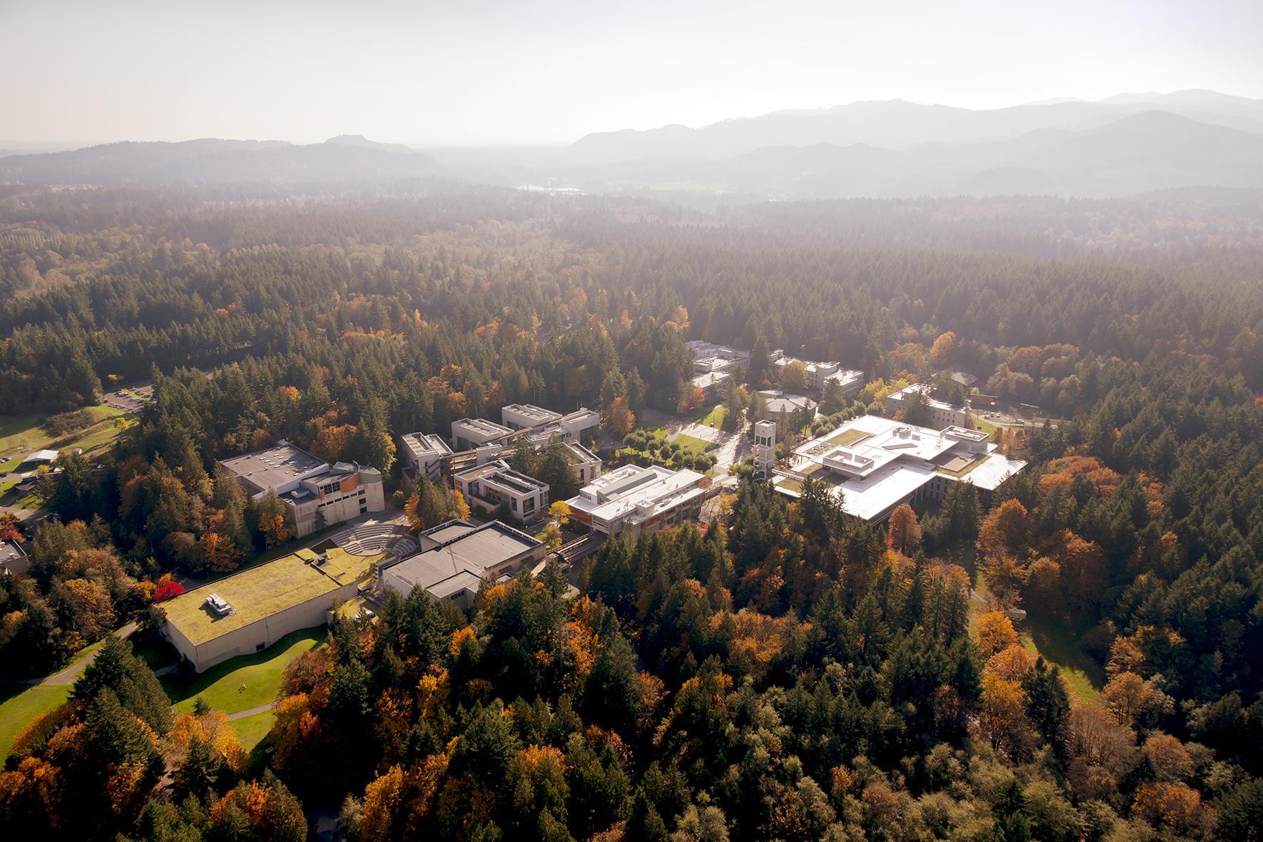 大自然の中で学べるEFシアトル校