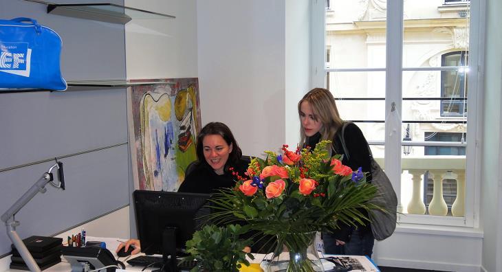 EFパリ校にキャリアアドバイザが常駐。いつでもワーホリに関するご相談を受け付けています!