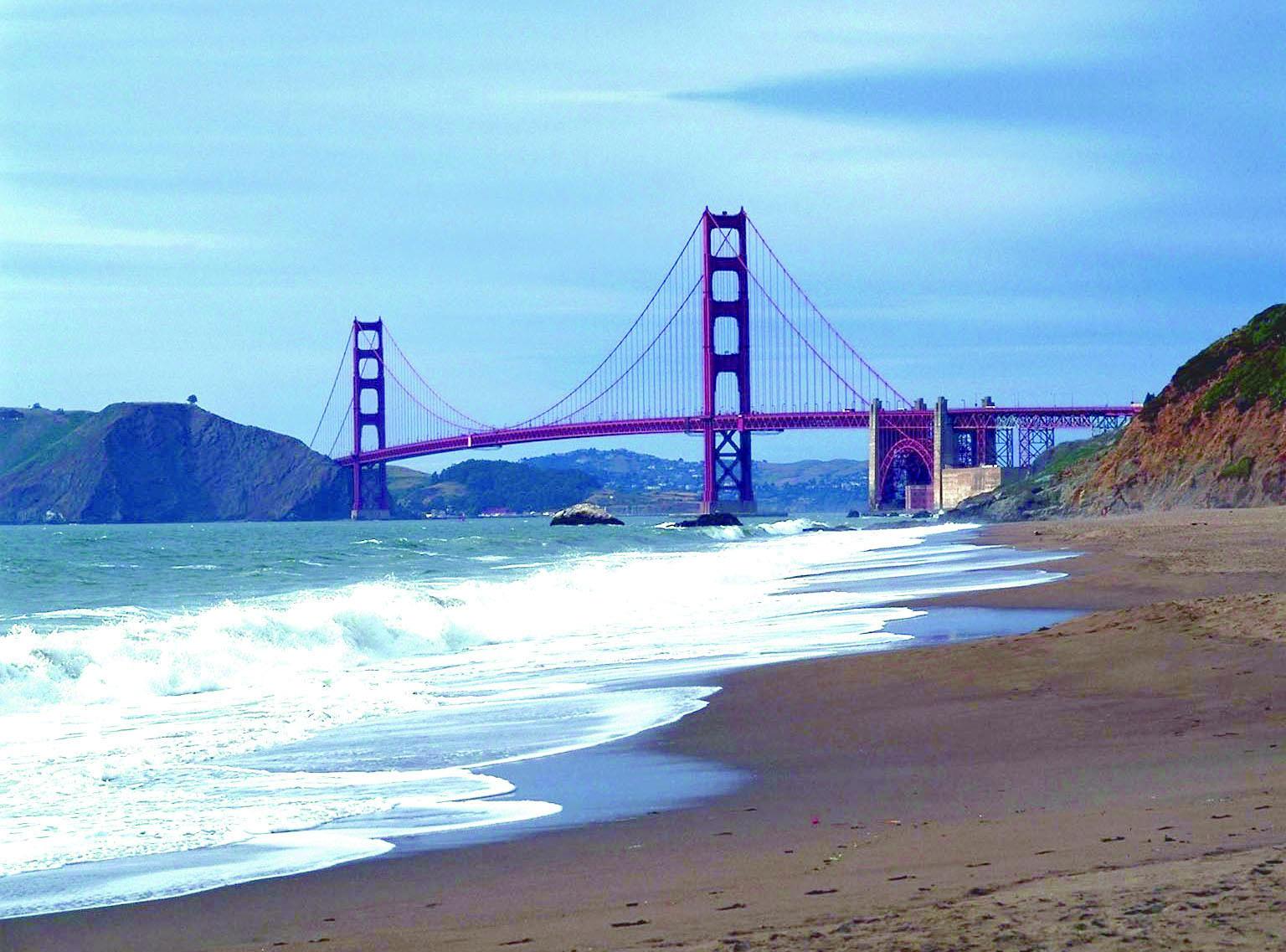 サンフランシスコは海にも近くて好立地♪