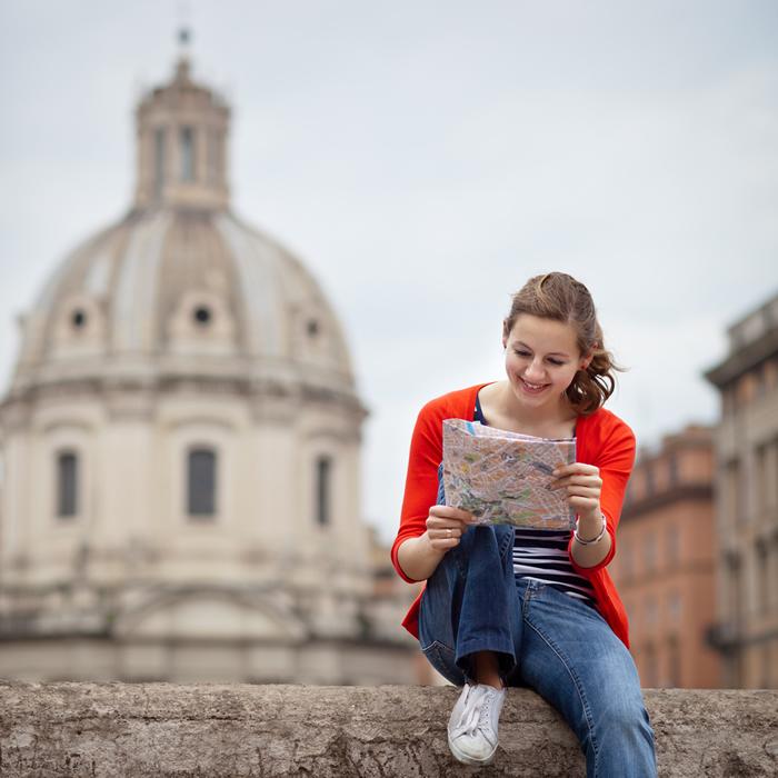 イタリアで語学留学