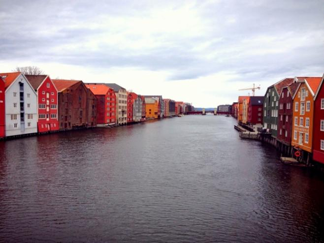 ノルウェーの街並み①