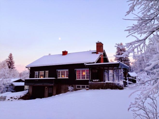 ノルウェーの冬